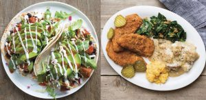 Fall menu at Veggie Grill: Trying Southern Chickin and Koreatown Tacos