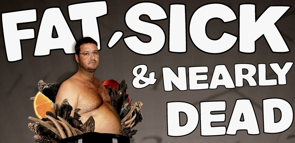 Fat Sick & Nearly Dead documentaries 1 and 2 graphic