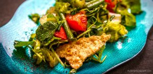 My favorite Fattoush salad: flavorful vegan salad recipe