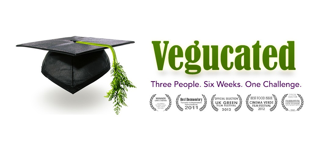 Vegucated documentary graphic