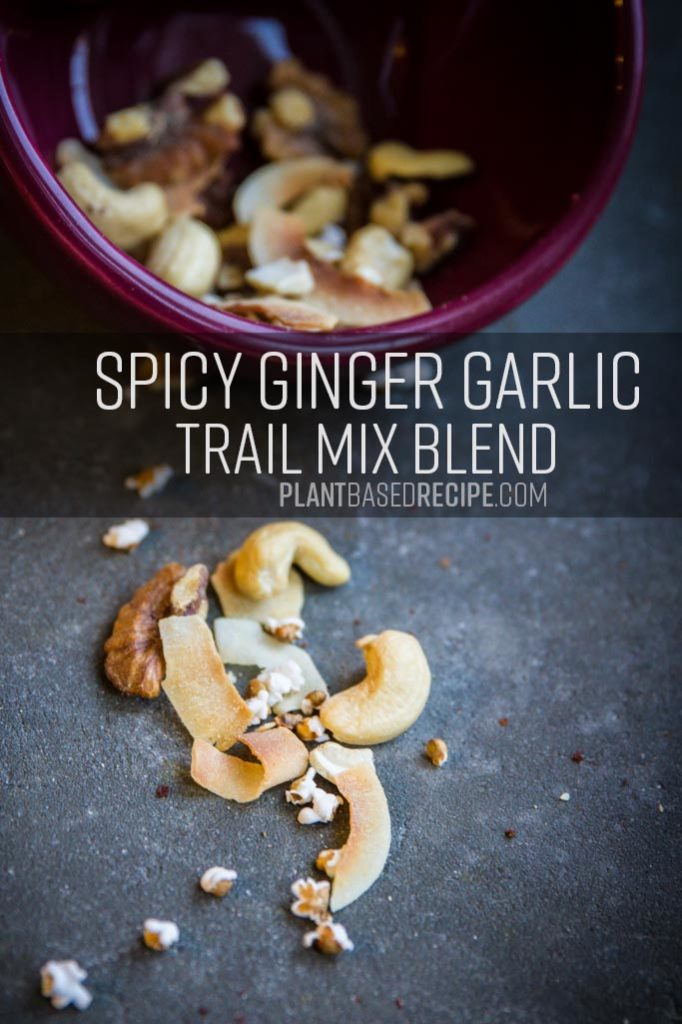 Spicy Ginger Garlic trail mix recipe image