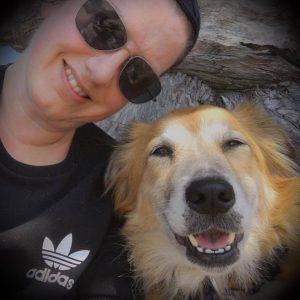 Jen deHaan with Tig
