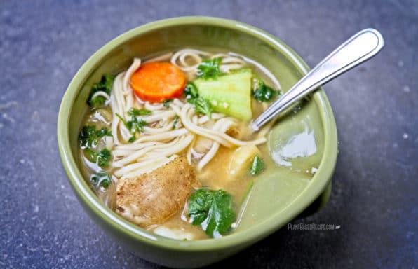 Recipe database plant based recipes easy oil free vegan recipes winter vegetable noodle soup forumfinder Images